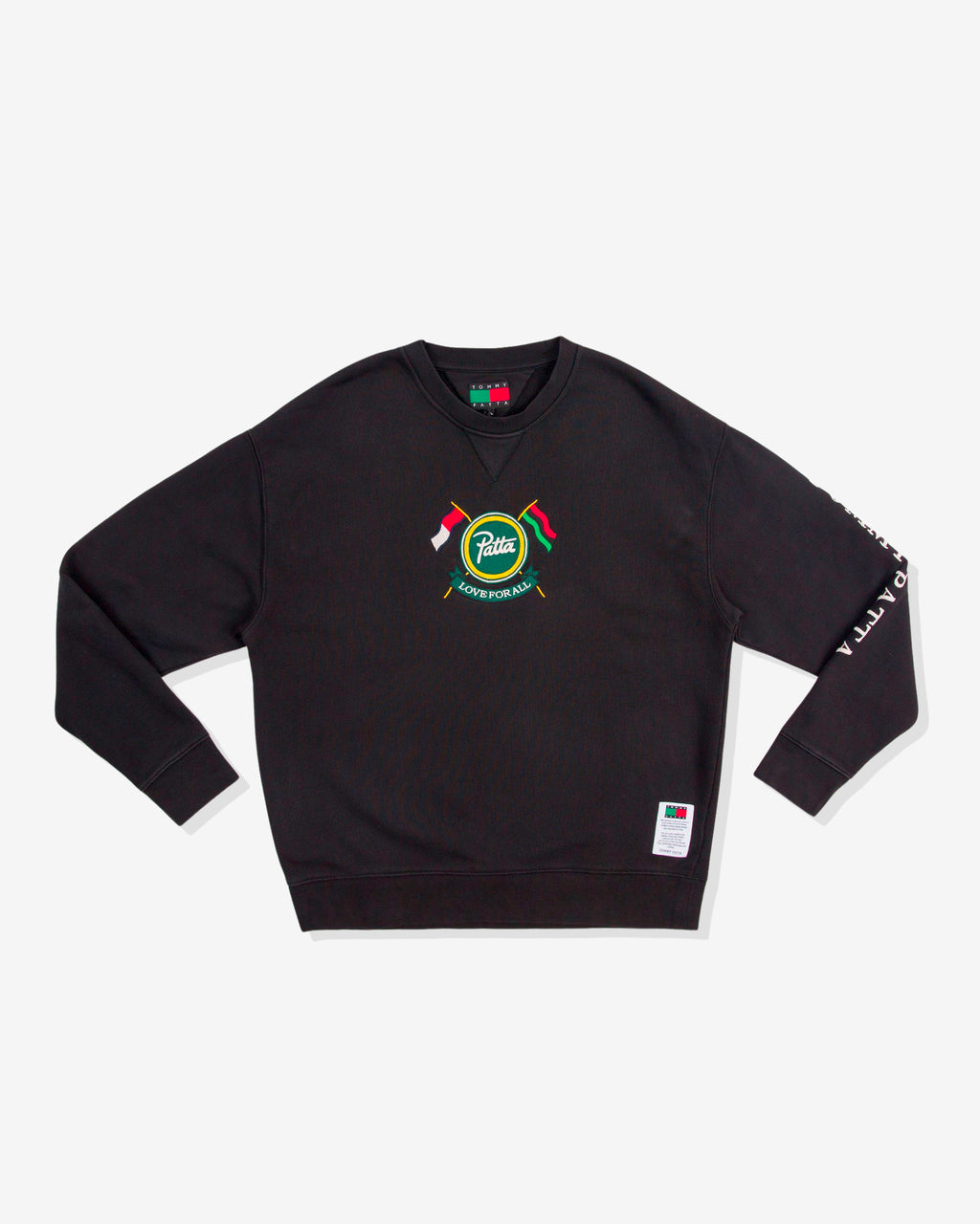 PATTA X TOMMY SWEATSHIRT - BLACK
