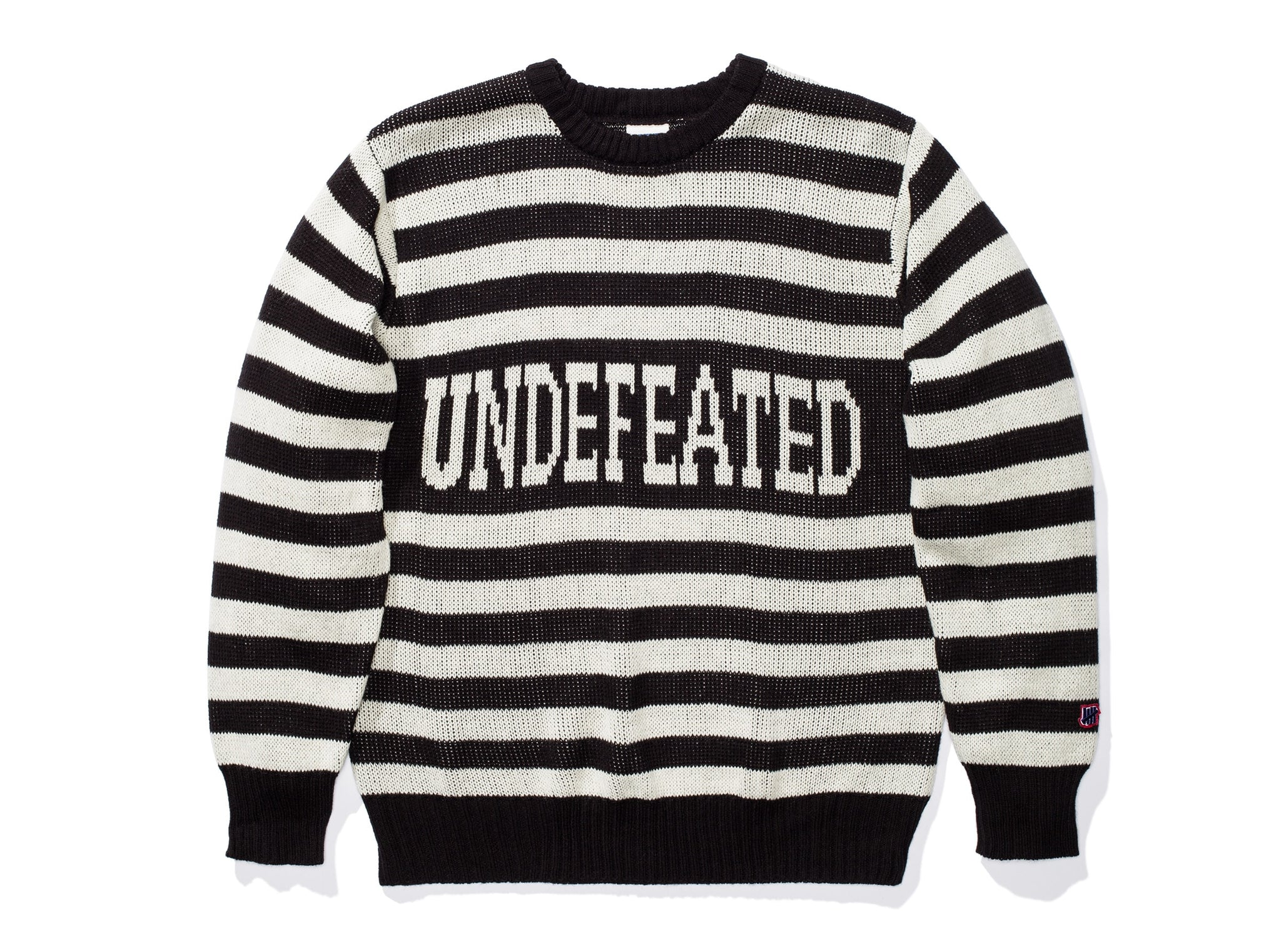 UNDEFEATED STRIPED TEAM SWEATER