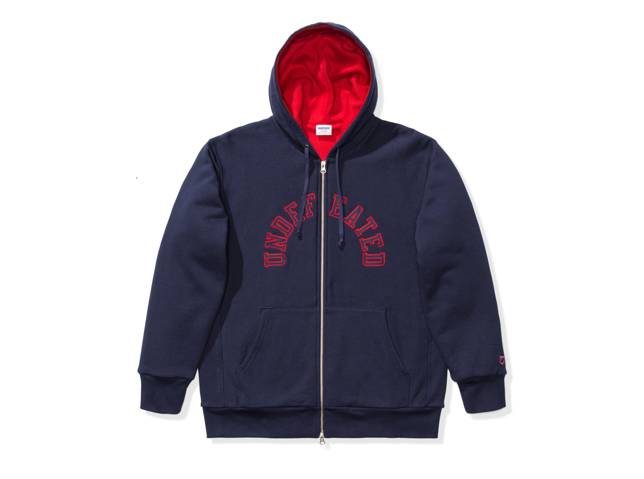 UNDEFEATED ARCH ZIP HOODIE
