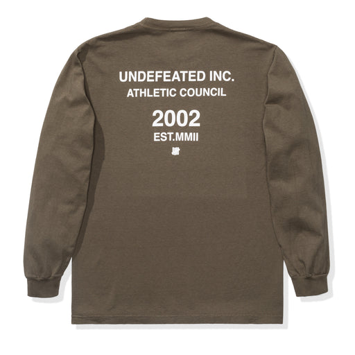UNDEFEATED ATHLETIC COUNCIL L/S TEE Image 5