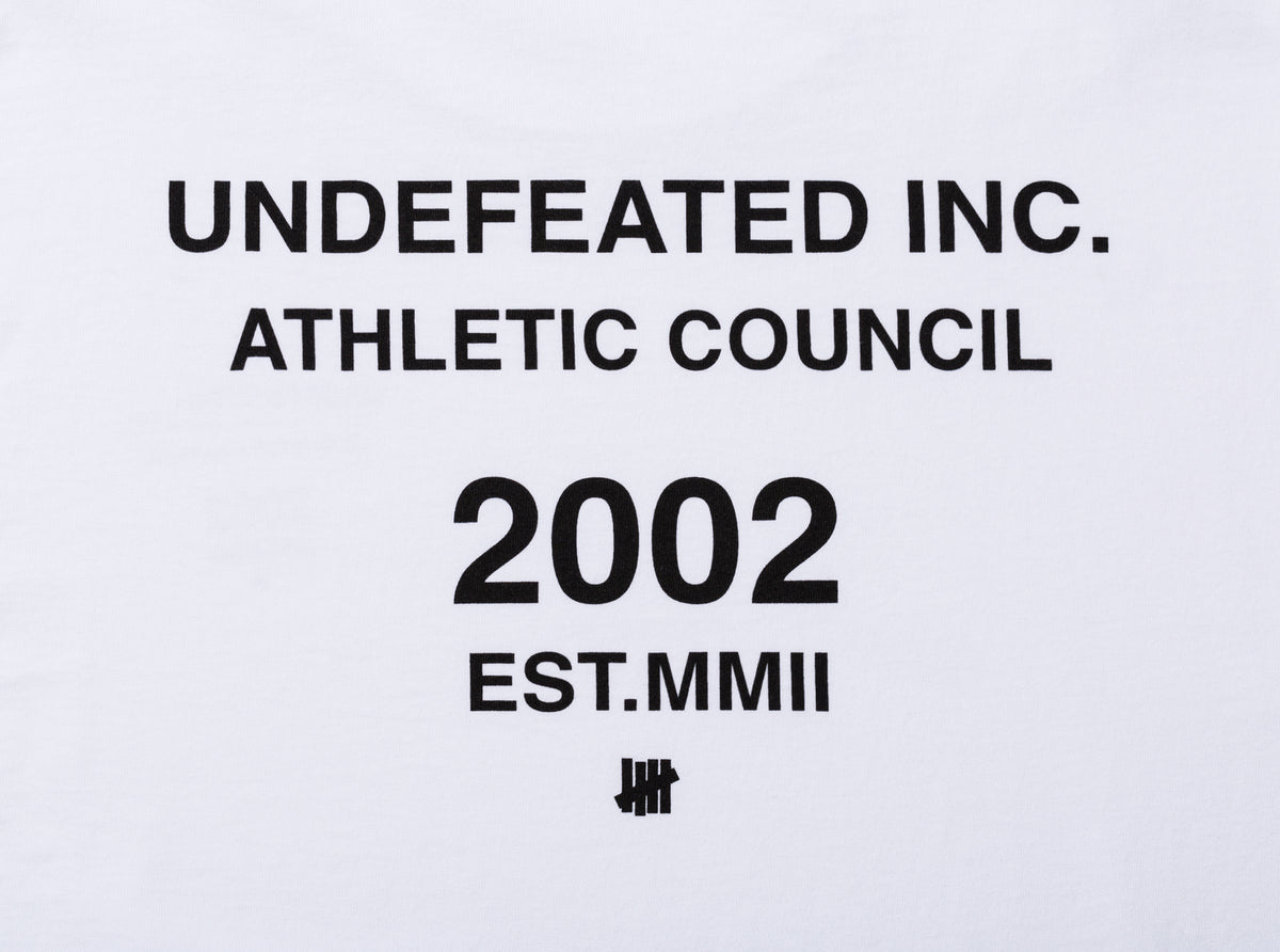 UNDEFEATED ATHLETIC COUNCIL L/S TEE