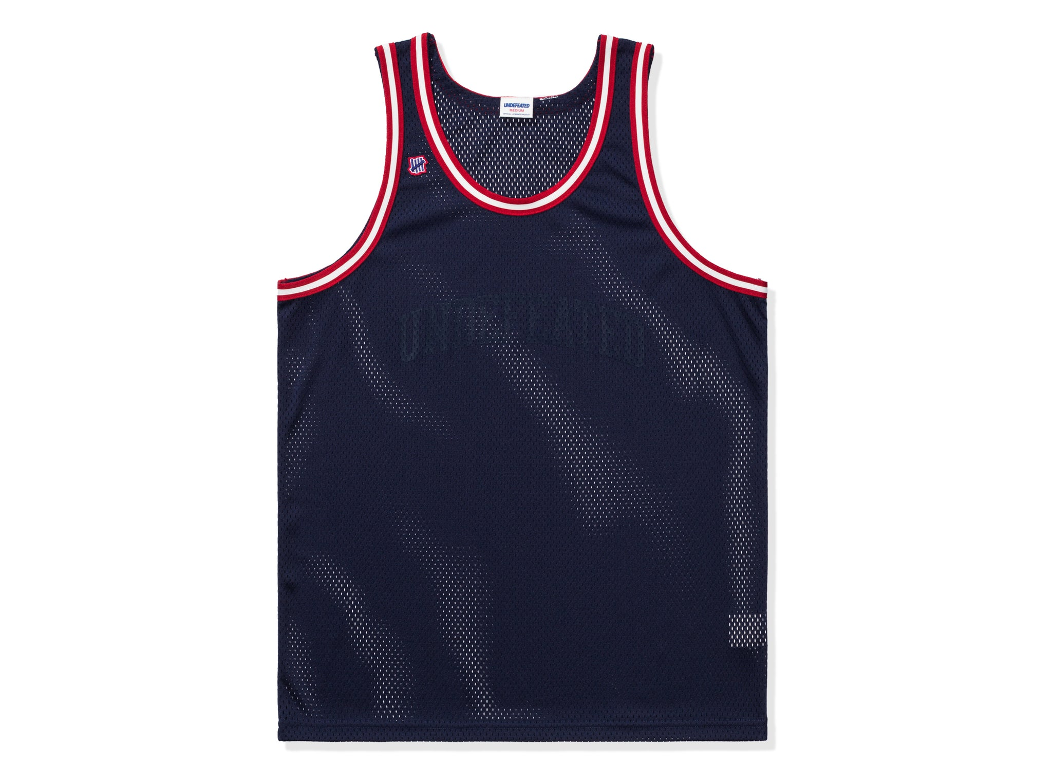 UNDEFEATED BASKETBALL JERSEY
