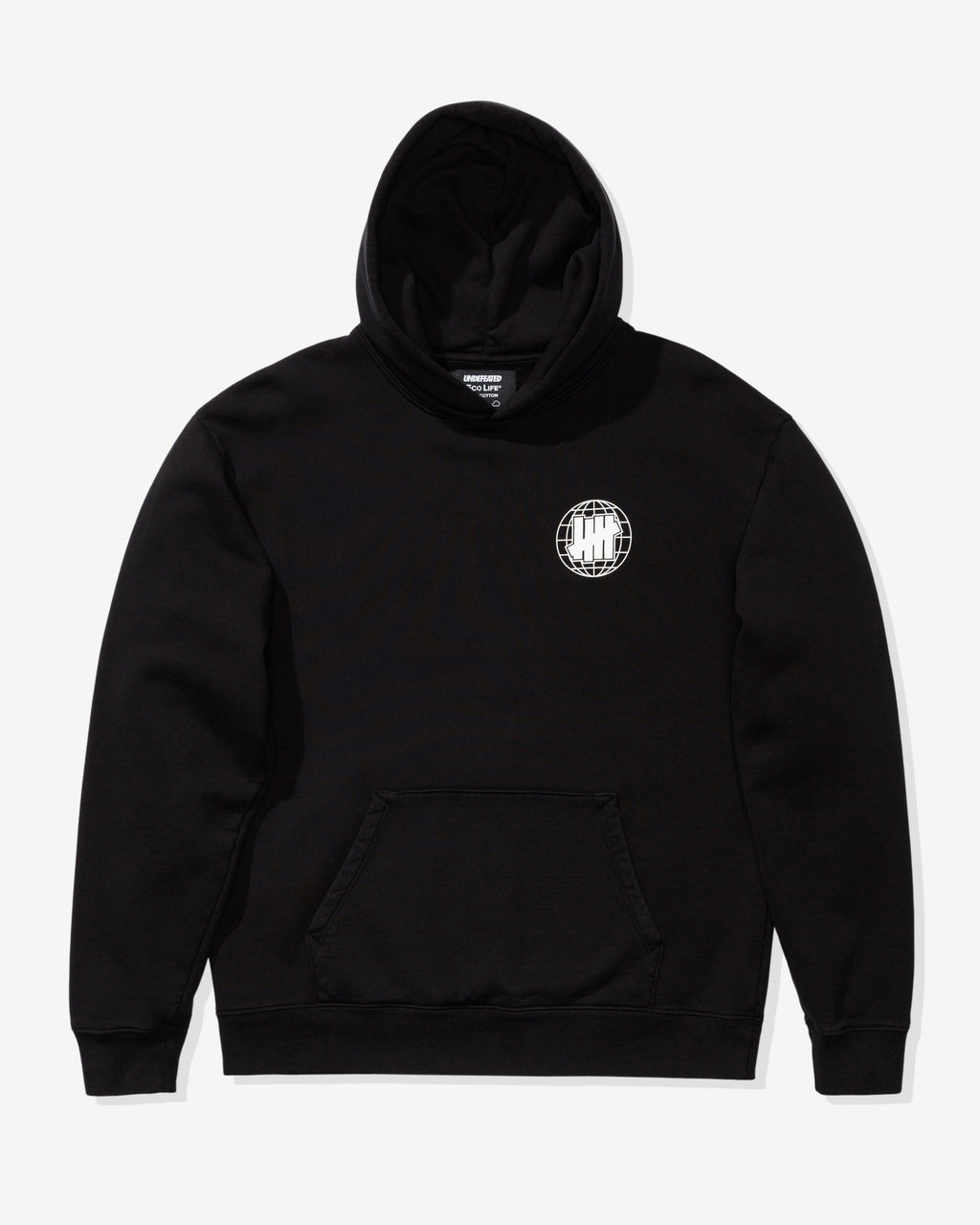 UNDEFEATED X ECOLIFE DON'T FUCK THIS UP HOODIE - BLACK
