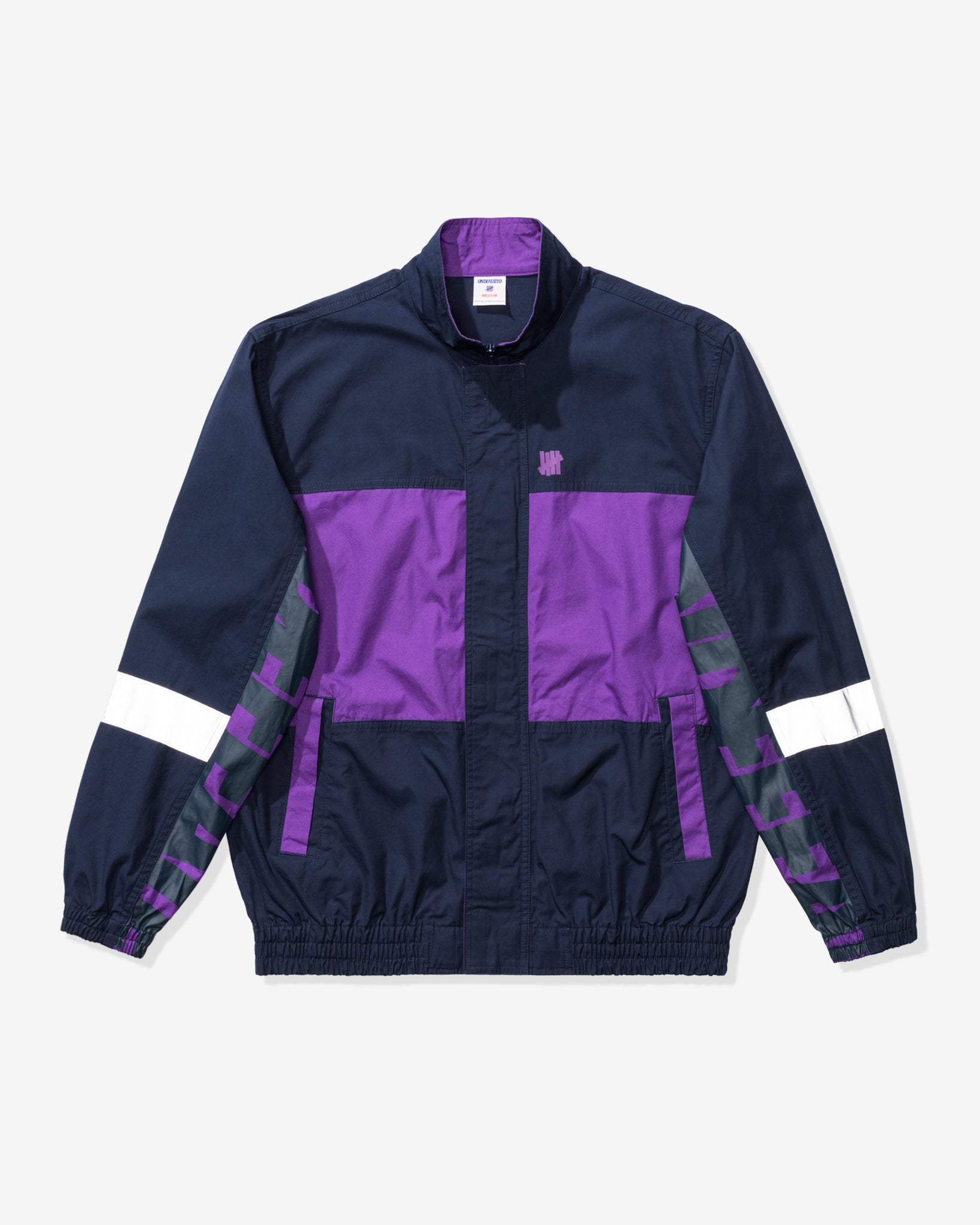 UNDEFEATED LOGO TRACK JACKET