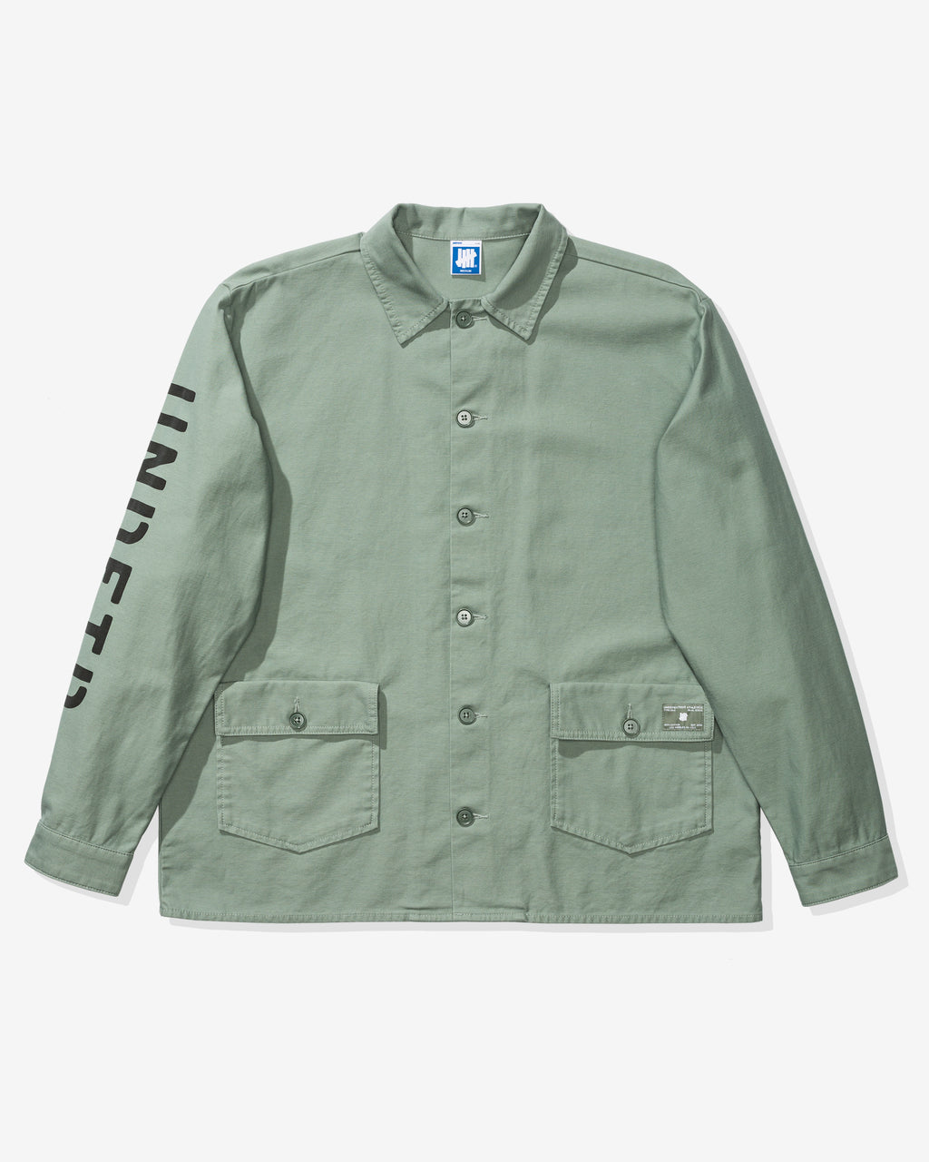 UNDEFEATED L/S BDU SHIRT - GREEN