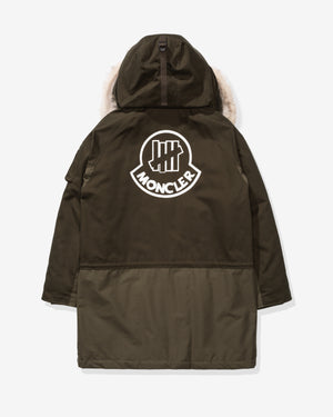 UNDEFEATED X MONCLER FENDORF LONG PARKA - DARKGREEN