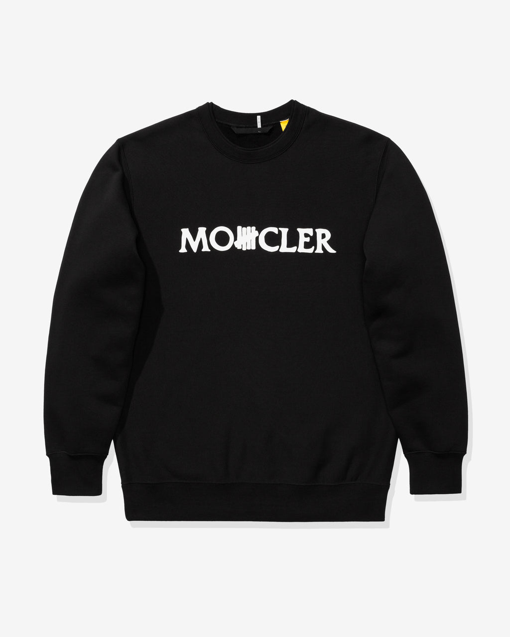 UNDEFEATED X MONCLER SWEATSHIRT - BLACK