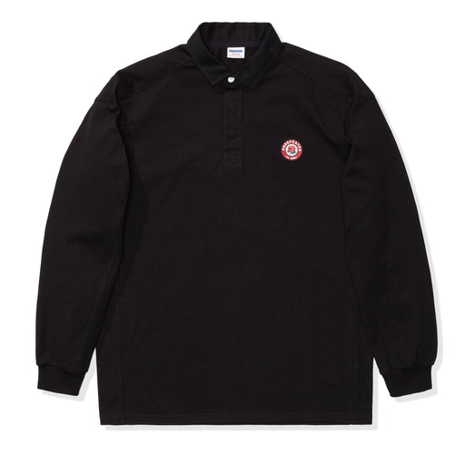 UNDEFEATED PANELED L/S RUGBY - BLACK Image 1