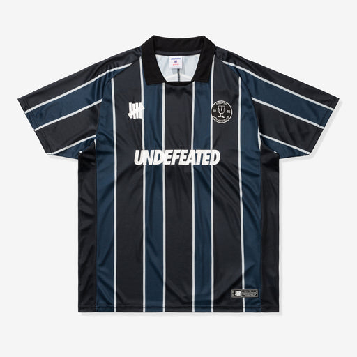 UNDEFEATED S/S SOCCER JERSEY - BLACK/NAVY Image 1