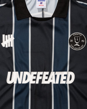 UNDEFEATED S/S SOCCER JERSEY - BLACK/NAVY