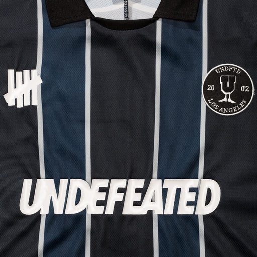 UNDEFEATED S/S SOCCER JERSEY - BLACK/NAVY Image 3