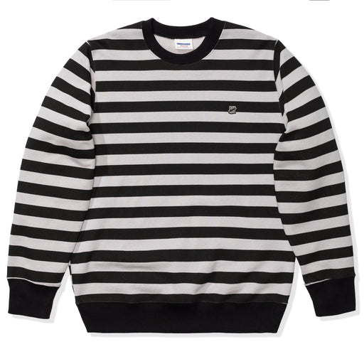 UNDEFEATED STRIPED CREWNECK Image 1