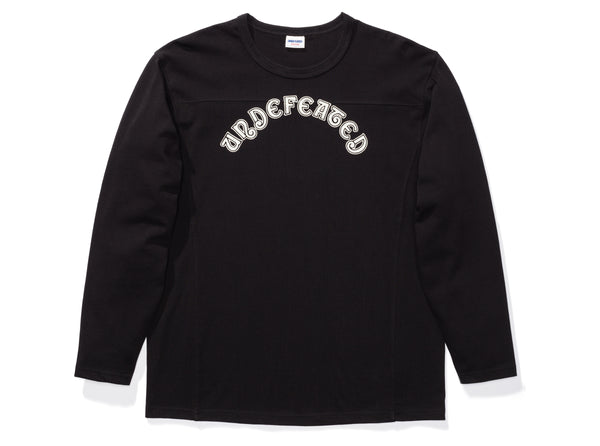 25fd414c UNDEFEATED L/S FOOTBALL JERSEY - BLACK
