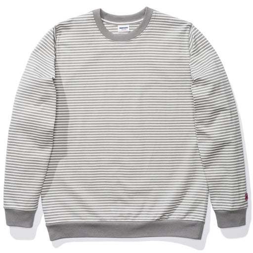 UNDEFEATED STRIPED L/S TOP - GREY Image 1