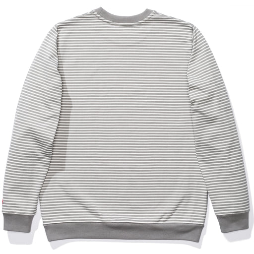 UNDEFEATED STRIPED L/S TOP - GREY Image 2