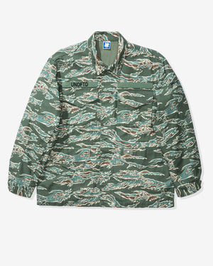 UNDEFEATED TIGER CAMO M65 JACKET - GREEN CAMO