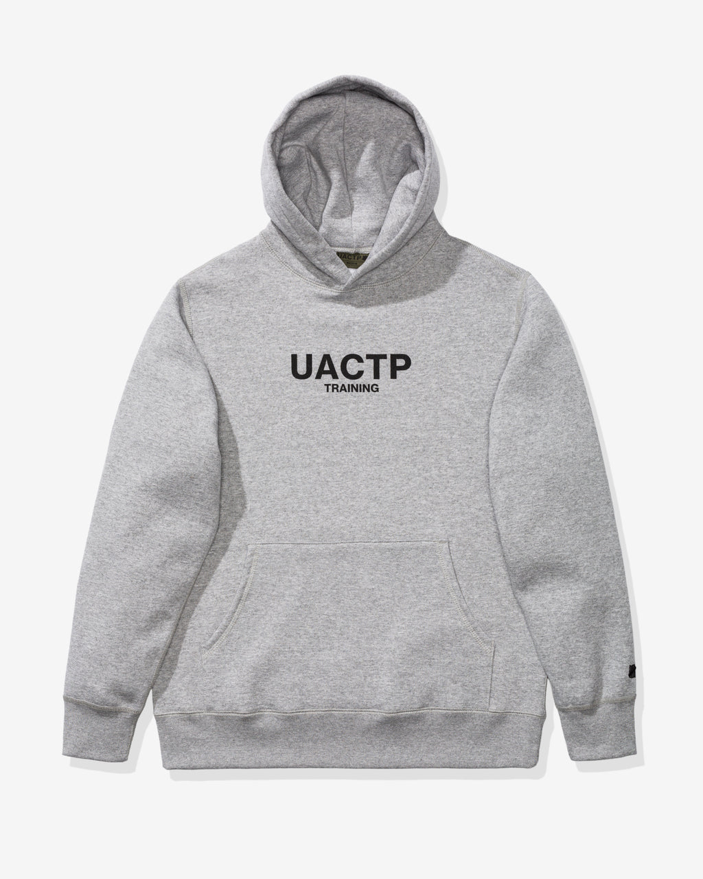 UACTP TRAINING HOODIE - HEATHER GREY