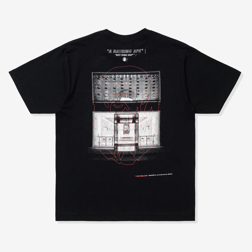 BAPE A BATHING APE TEE - BLACK Image 2