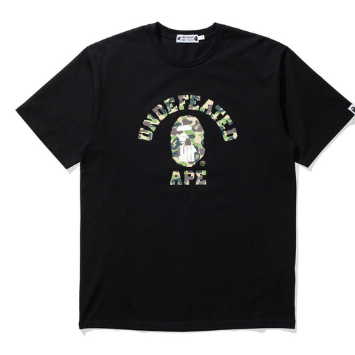 BAPE X UNDEFEATED ABC COLLEGE TEE Image 1
