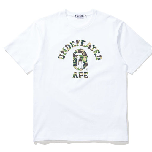 BAPE X UNDEFEATED ABC COLLEGE TEE Image 3
