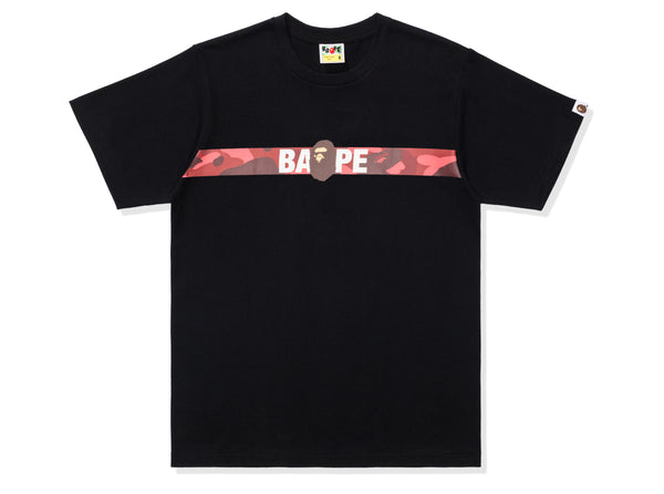 BAPE COLOR CAMO TAPE APE HEAD TEE