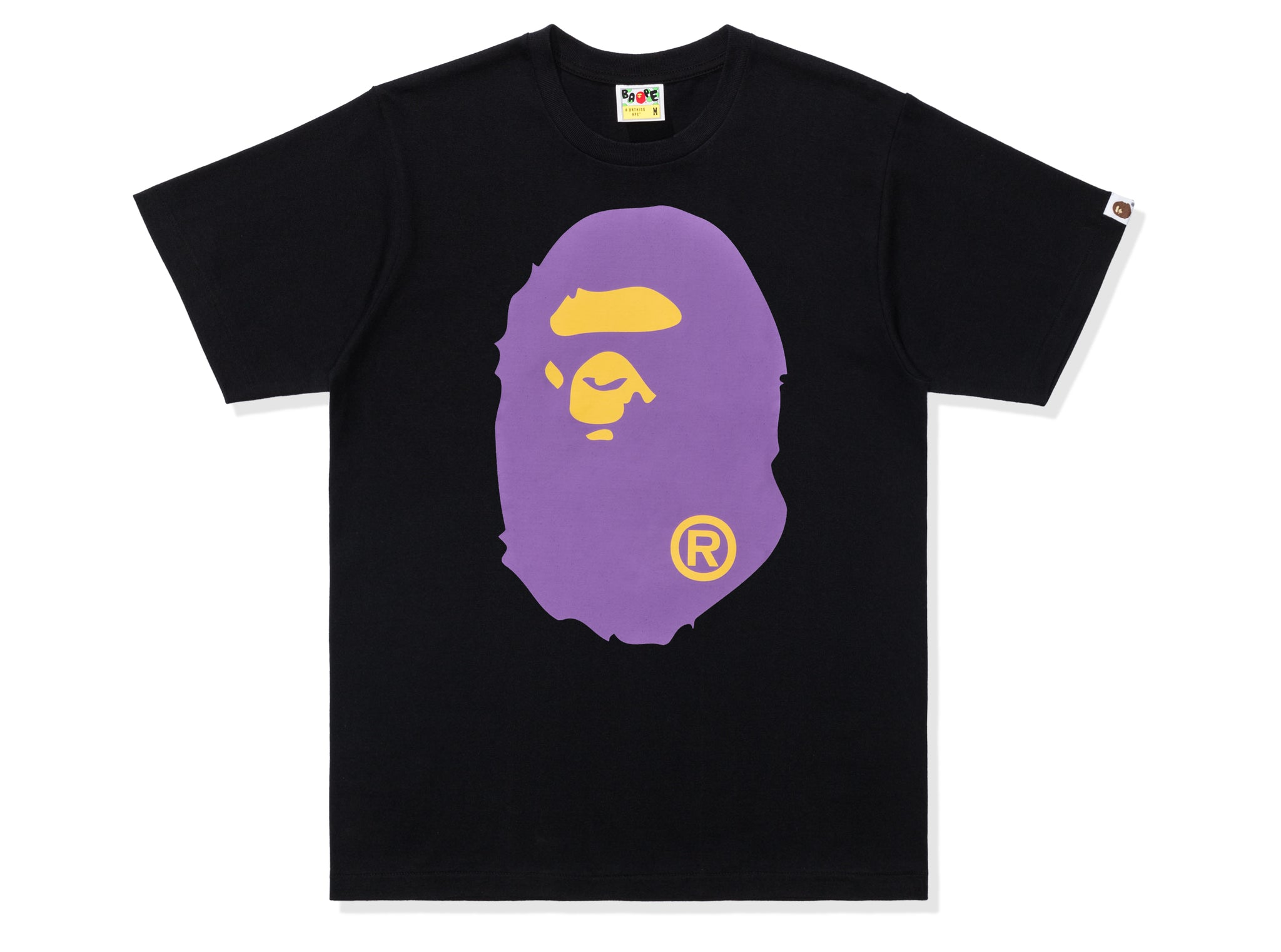BAPE COLORS BIG APE HEAD TEE