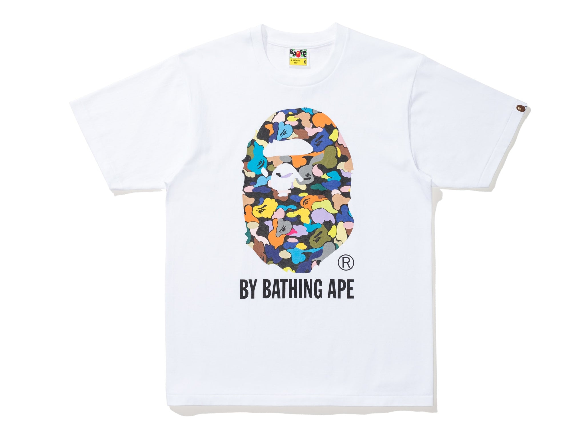 BAPE MULTI CAMO BY BATHING TEE