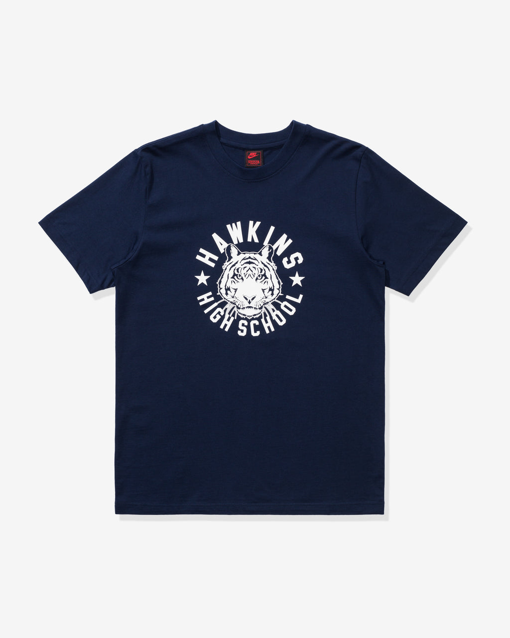 NIKE X STRANGER THINGS TEE - COLLEGENAVY/SAIL