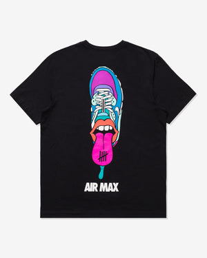NIKE X UNDEFEATED AIR MAX 90 TEE - BLACK