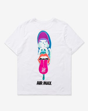 NIKE X UNDEFEATED AIR MAX 90 TEE - WHITE