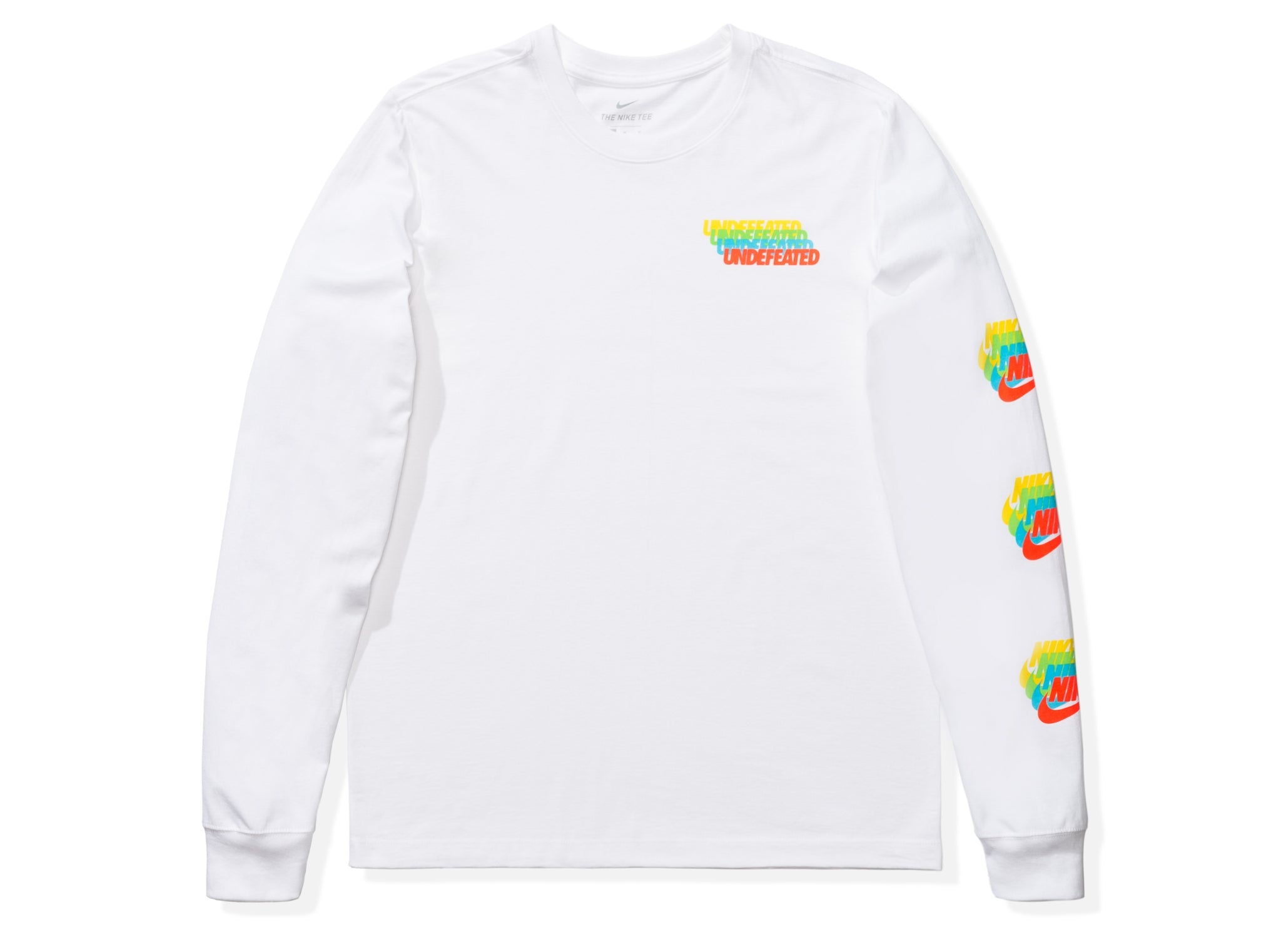 NIKE X UNDEFEATED LS TEE - WHITE