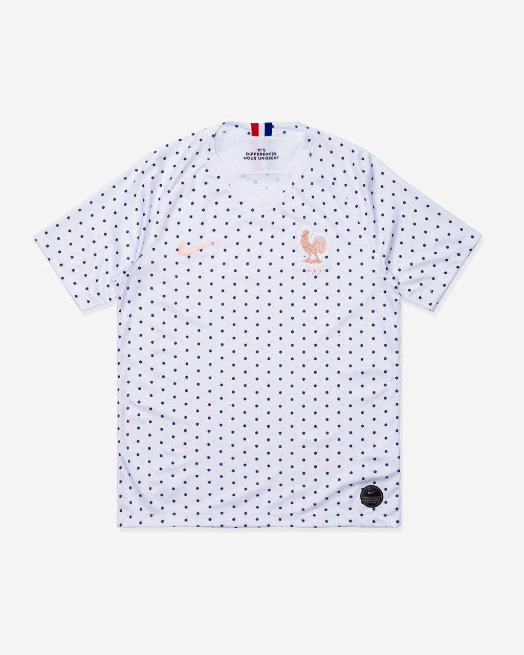 MEN'S FFF 2019 STADIUM AWAY JERSEY - WHITE/P488C