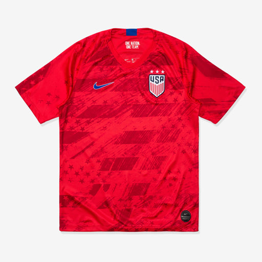 MEN'S U.S. STADIUM JERSEY 2019 - SPEEDRED/BRIGHTBLUE Image 1