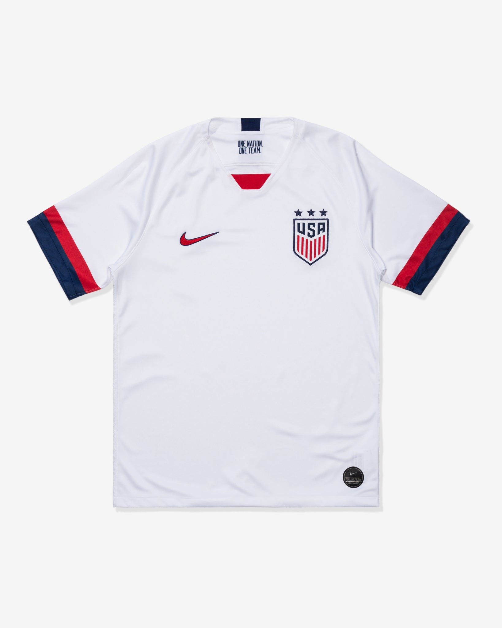 MEN'S U.S. STADIUM JERSEY 2019 - WHITE/BLUEVOID/UNIVERSITYRED