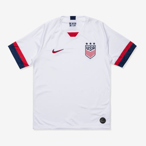 MEN'S U.S. STADIUM JERSEY 2019 - WHITE/BLUEVOID/UNIVERSITYRED Image 1