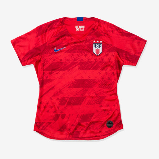WOMEN'S U.S. STADIUM JERSEY 2019 - SPEEDRED/BRIGHTBLUE Image 1