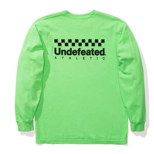 UNDEFEATED CHECKERED L/S TEE