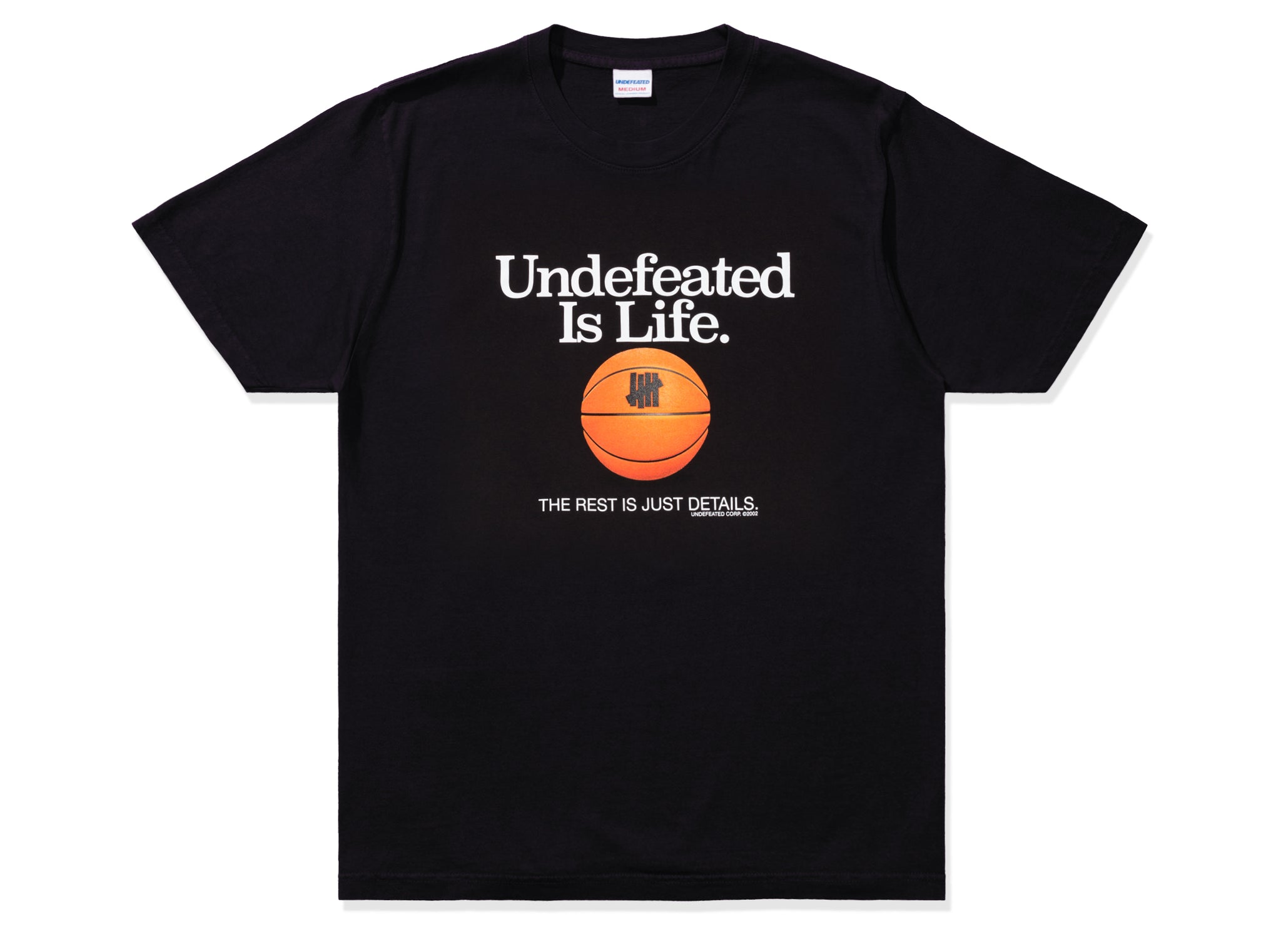 UNDEFEATED IS LIFE TEE