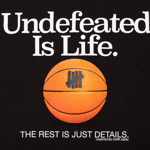 UNDEFEATED IS LIFE TEE Image 4