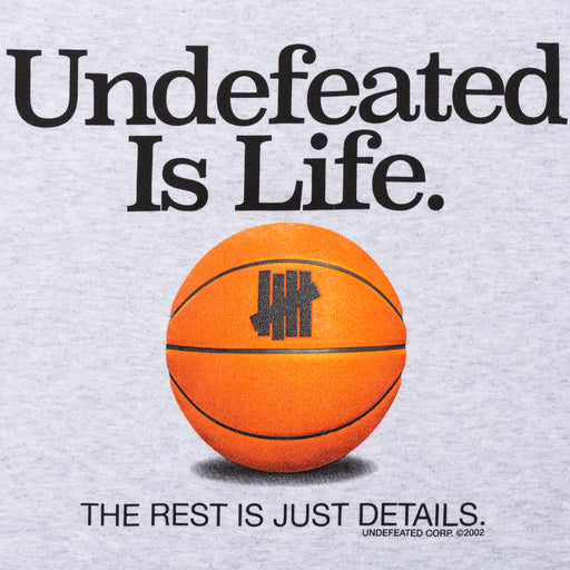 UNDEFEATED IS LIFE TEE Image 6