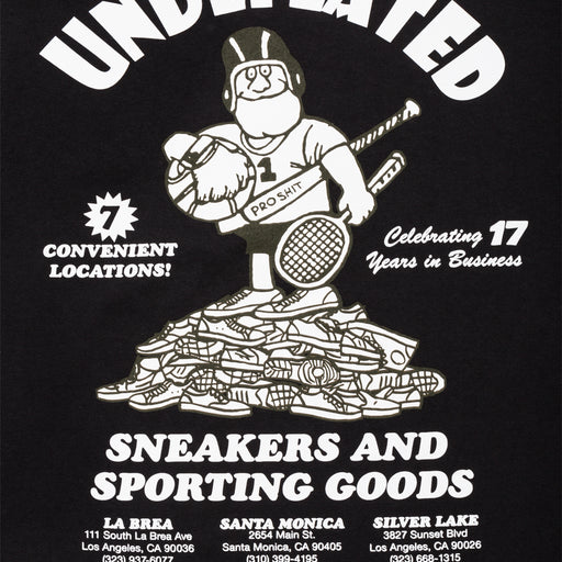 UNDEFEATED SNEAKERS & SPORTING GOODS S/S TEE Image 4