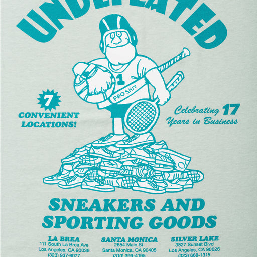 UNDEFEATED SNEAKERS & SPORTING GOODS S/S TEE Image 8
