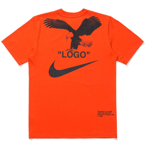 NIKE X OFF-WHITE NRG A6 TEE - TEAMORANGE/BLACK