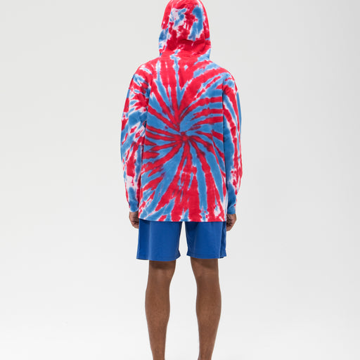 UNDEFEATED TIE DYED HOODED L/S TOP Image 12