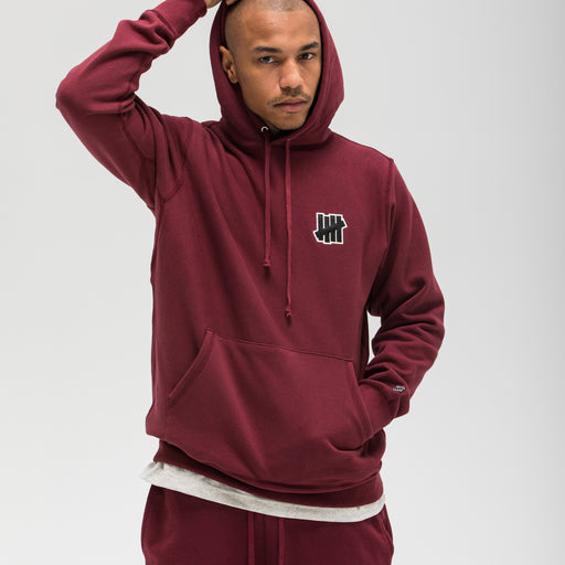 UNDEFEATED SATIN ICON PULLOVER HOODIE Image 17
