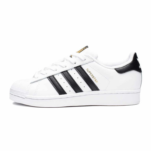 GS SUPERSTAR  - FLAT WHITE/ BLACK