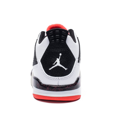 PS AJ 4 RETRO - WHITE/BLACK/BRIGHTCRIMSON Image 3
