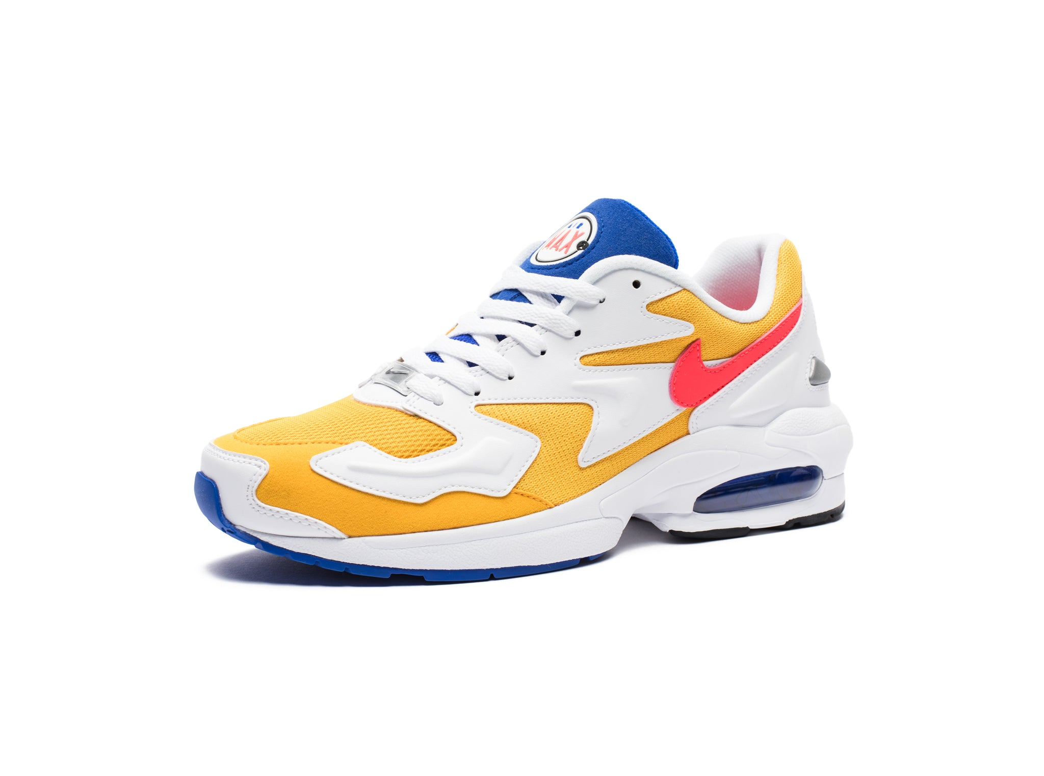 AIR MAX2 LIGHT - UNIVERSITYGOLD/FLASHCRIMSON/RACERBLUE