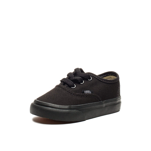 VANS TODDLER AUTHENTIC - BLACK/BLACK