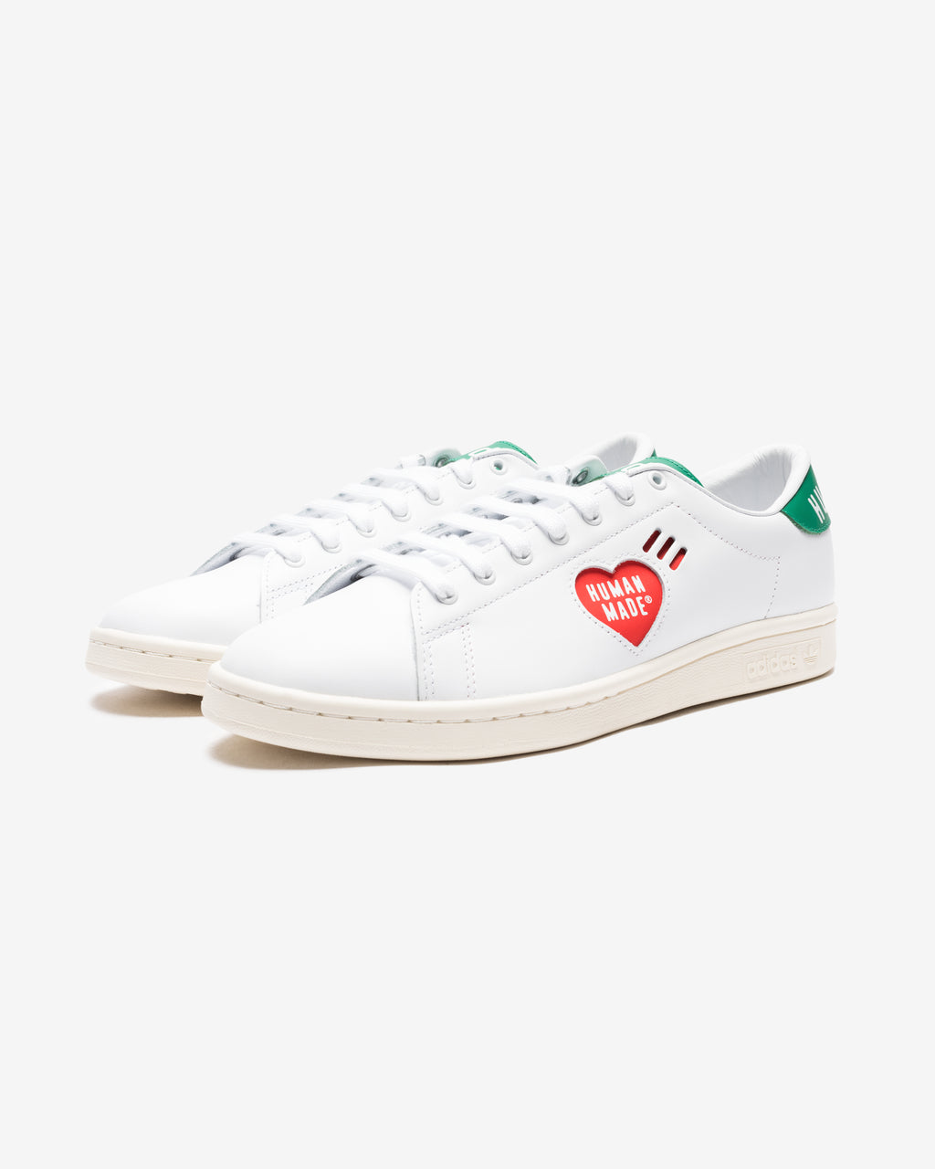ADIDAS X HUMAN MADE STAN SMITH - FTWWHT/ OFFWHT/ GOLDMET